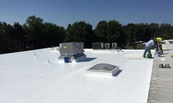 Commercial roof coating company San Antonio, TX